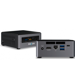 Mini PC NEXUS NUC PRIME Vistas Frontal-Traseira-2