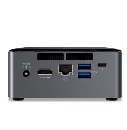 Mini PC NEXUS NUC PRIME Vista Traseira