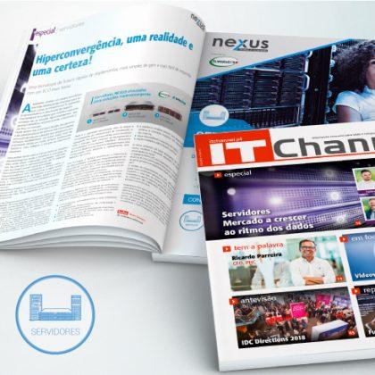 Hiperconvergência NEXUS em destaque na IT Channel