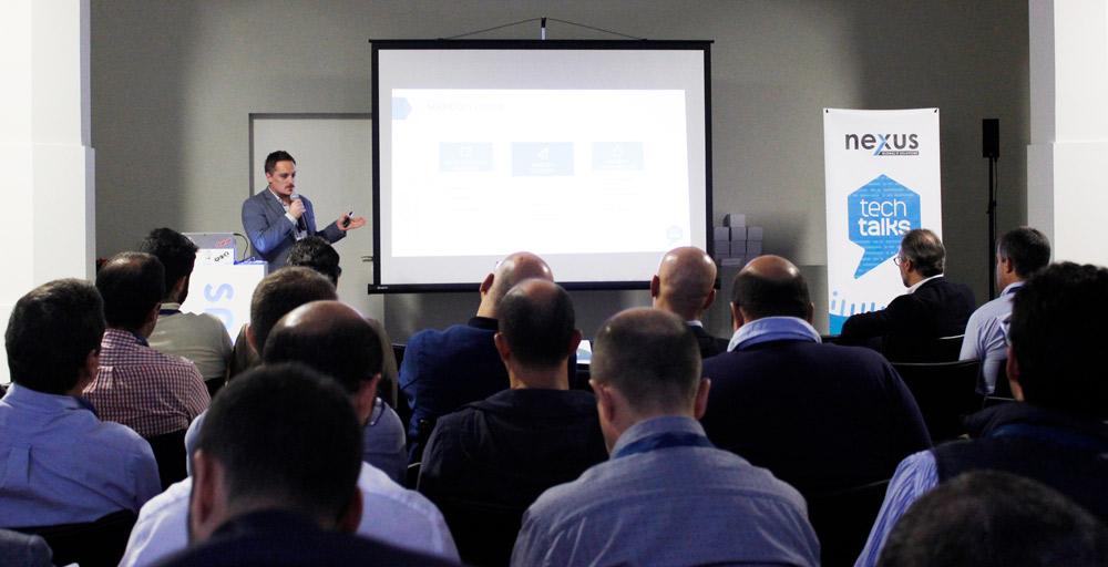 Apresentação da ClouDirect no Tech Talks.